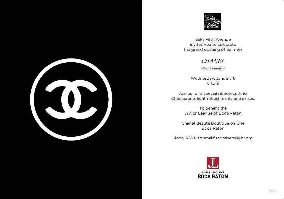 Chanel_JL Grand Opening Evite
